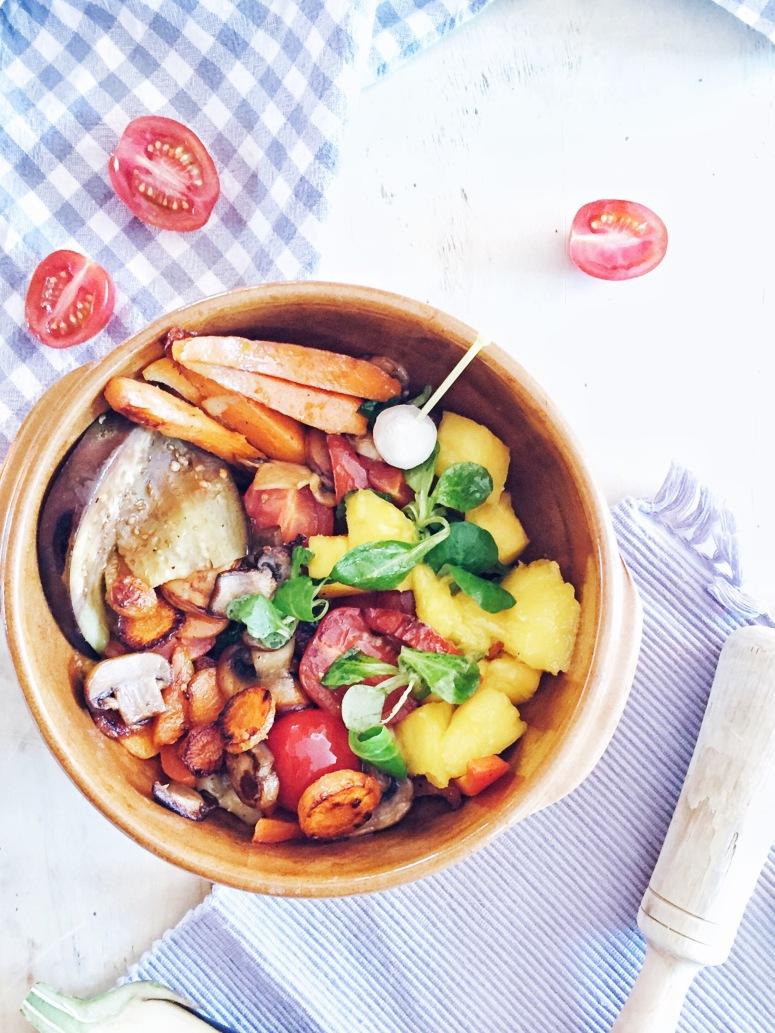 bol con vegetales